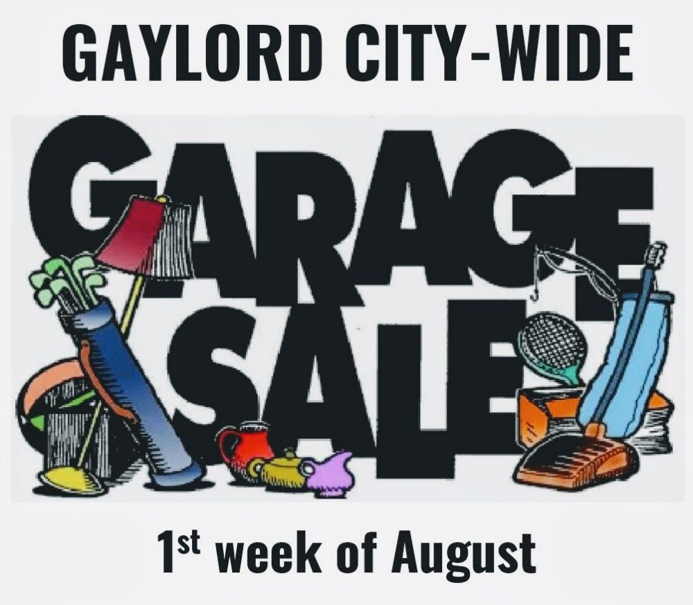 Citywide Garage Sales |City of Gaylord, MN