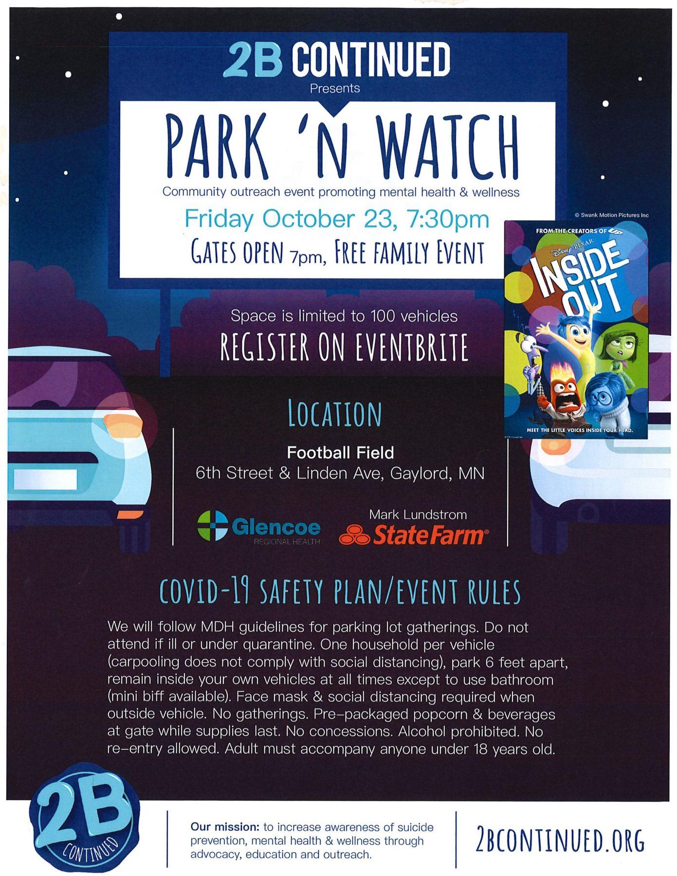 Park 'N Watch !